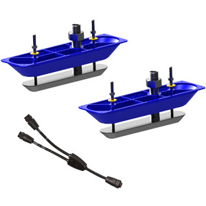 Navico StructureScanHD Sonar Stainless Steel Thru-Hull Transducer (Pair) w\/Y-Cable [000-11460-001]