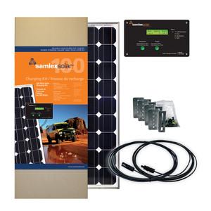 Samlex Solar Charging Kit - 100W - 30A [SRV-100-30A]