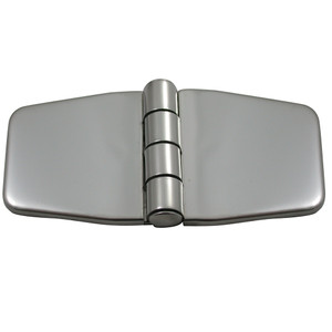 "Southco Stamped Covered Hinge - 316 Stainless Steel - 1.4"" x 3"" [N6-5A-4VC8-24]"