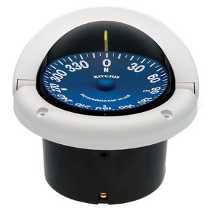 Ritchie SS-1002W SuperSport Compass - Flush Mount - White [SS-1002W]