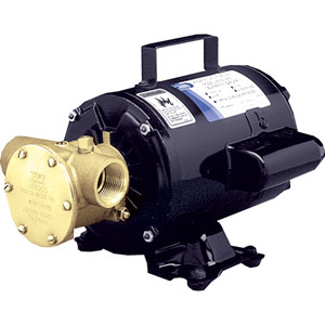 Jabsco Utility Pump w\/Open Drip Proof Motor - 115V [6050-0003]