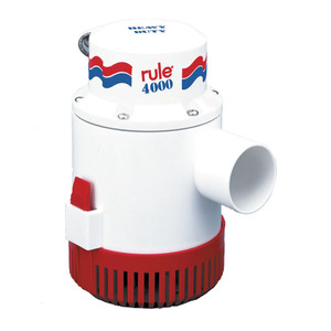 Rule 4000 Non-Automatic Bilge Pump - 12V [56D]