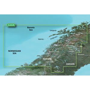 Garmin BlueChart g2 HD - HXEU053R - Trondheim - Tromso - microSD\/SD [010-C0789-20]
