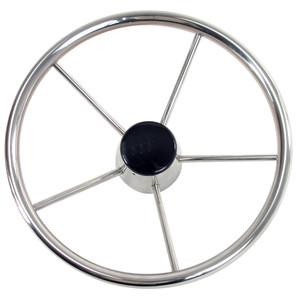 "Whitecap Destroyer Steering Wheel - 13-1\/2"" Diameter [S-9001B]"