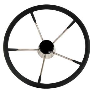 "Whitecap Destroyer Steering Wheel - Black Foam - 13-1\/2"" Diameter [S-9003B]"
