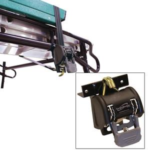 "CargoBuckle Ladder Rack System - 1.25"" Square 7' Pair [F18816]"