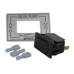 Attwood 3-Way Auto\/Off\/Manual Bilge Pump Switch [7615A3]