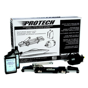 UFlex PROTECH 3 Front Mount Outboard Hydraulic System - No Hoses Included [PROTECH 3.0]