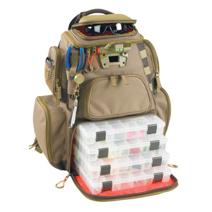 Wild River NOMAD Lighted Tackle Backpack w\/4 PT3600 Trays [WT3604]