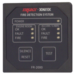 Xintex 2 Zone Fire Detection & Alarm Panel [FR-2000-R]