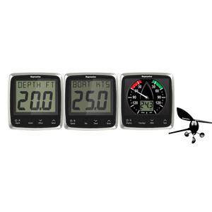 Raymarine i50\/i60 Wind\/Speed\/Depth System Package [E70153]