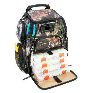 Wild River RECON Mossy Oak Compact Lighted Backpack w\/4 PT3500 Trays [WCT503]