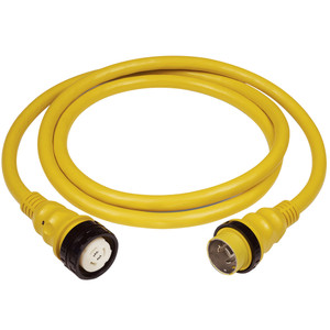Marinco 50Amp 125\/250V Shore Power Cable - 25' - Yellow [6152SPP-25]