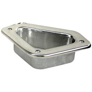 "Whitecap Hawse Pipe - 316 Stainless Steel - 4-3\/4"" x 2-3\/4"" [6349]"