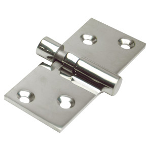 "Whitecap Take-Apart Motor Box Hinge (Locking) - 316 Stainless Steel - 1-1\/2"" x 3-5\/8"" [6018C]"