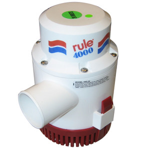 Rule 4000 Non-Automatic Bilge Pump - 24V [56D-24]