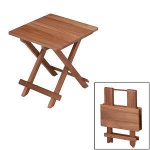 Whitecap Teak Solid Top Fold Away Table [60031]