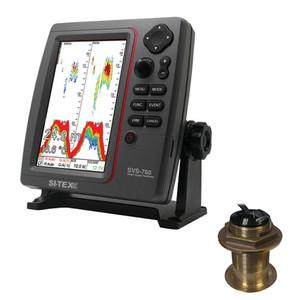 SI-TEX SVS-760 Dual Frequency Sounder 600W Kit w\/Bronze 20 Degree Transducer [SVS-760B60-20]
