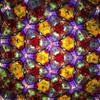 Kaleidoscope - 'Short Medium Flower Wheels' in Brass by Roy Cohen