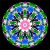 sample interior image of the Mini # 5 Kaleidoscope by Charles Karadimos