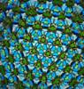 sample interior image of Kaleidoscope - 'Starfire' in Spiral Brass by Sheryl Koch