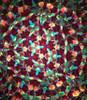 Kaleidoscope 'Short Small Wheels' in Brass by Roy Cohen