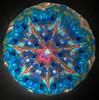 Kaleidoscope 'Mini Wheels' in Dark Brass by Roy Cohen