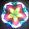 Kaleidoscope 'MarbleScope' in Iridescent Black Glass by Sue Rioux Designs
