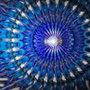 "sample interior image of Kaleidoscope - ""Narrow"" in Black Aluminum by Koji Yamami"