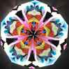 sample interior image of Kaleidoscope - 'Get a Grip' in Osange Orange Wood by Randy & Shelley Knapp Limited Edition #2/7