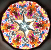 sample interior image of Kaleidoscope 'Large Classic Oil Cell' in Gold Brass by Roy Cohen