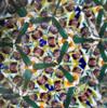 sample interior image of Kaleidoscope - 'Starlet' in Spiral Brass by Sheryl Koch