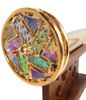 Kaleidoscope - 'Floret Agate' in Brass by Jon Greene | Chesnik Scopes