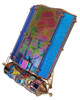 Kaleidoscope 'Serendipity' in Stained and Dichroic Glass by Sue Rioux