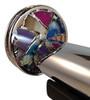 Kaleidoscope - Floret Agate in Chrome by Jon Greene | Chesnik Scopes