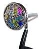 Kaleidoscope - 'Small Signet Agate' in Chrome by Jon Greene | Chesnik Scopes