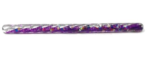 """Kaleidoscope Wand - 6"""" x 3/8"""" Purple"""