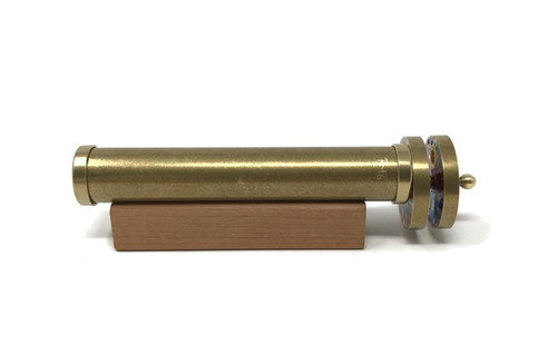 Kaleidoscope 'Short Small Wheeled' in Brass by Roy Cohen