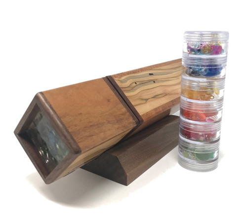 Kaleidoscope - 'Magic Act' with Turning End in Cherry/Ambrosia Maple by Dan Land