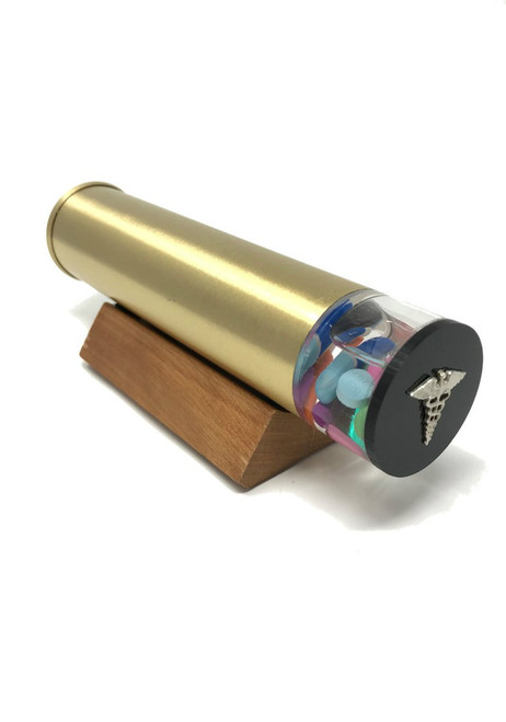 Kaleidoscope 'Hypochondriac' in Brushed Brass by David Kalish