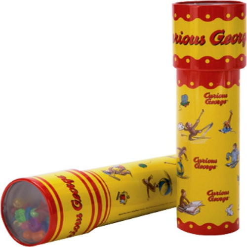 Kaleidoscope - Curious George in Tin