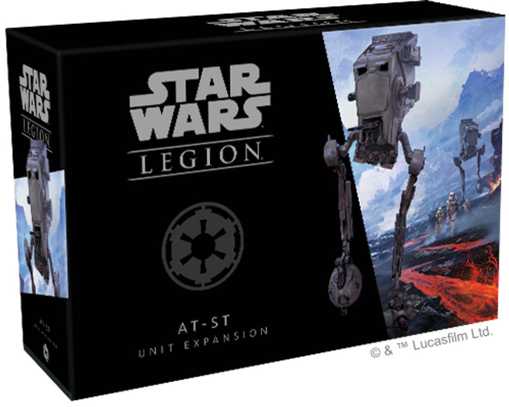 Star Wars Legion AT-ST Unit Imperial Expansion