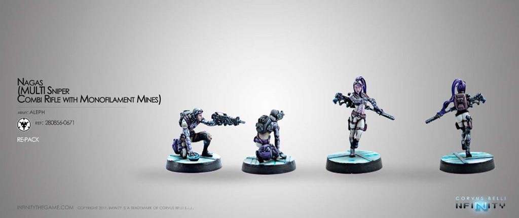Naga (Multi Sniper + Combi rifle & Monofilament mines)