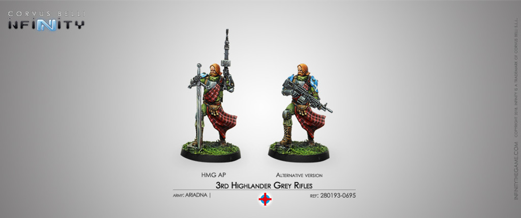 3rd Highlander Grey Rifles (HMG)