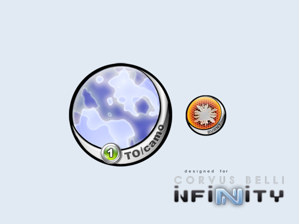 Infinity Tokens TO-Camo Blue 55mm (2)