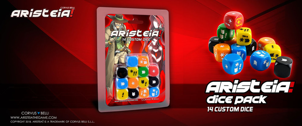 Aristeia! Dice Pack (complete dice set)