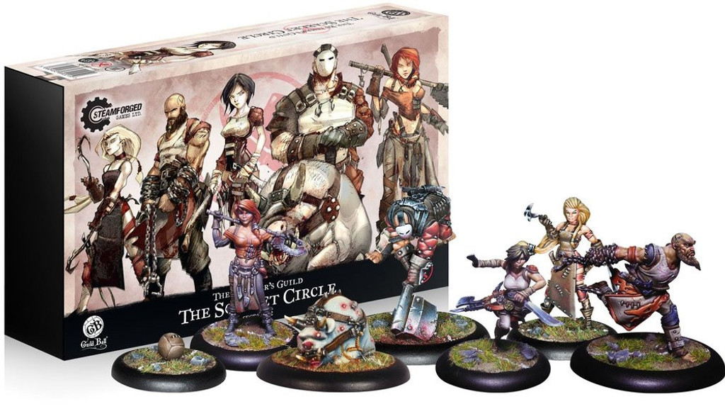 Guild Ball The Butchers Guild The Scarlet Circle