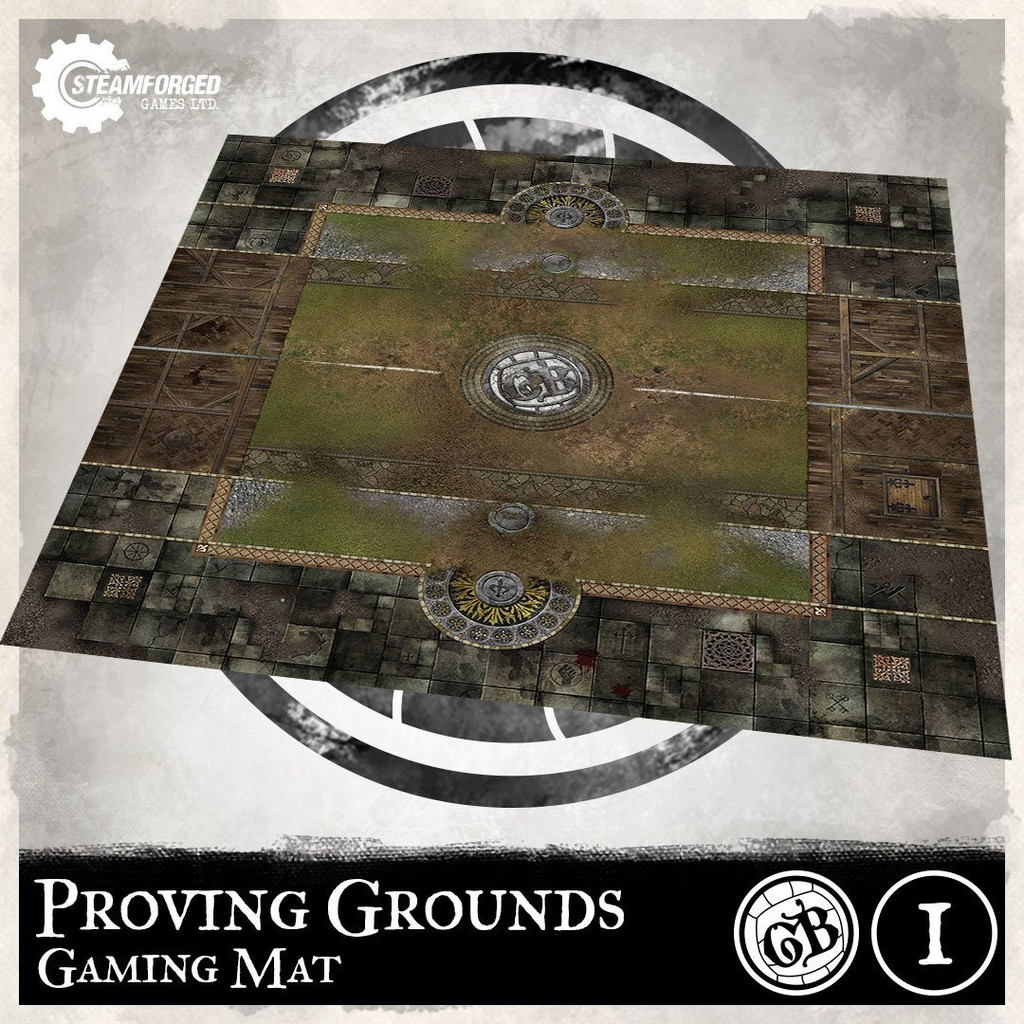 Guild Ball Guild Ball Play Mat Proving Grounds