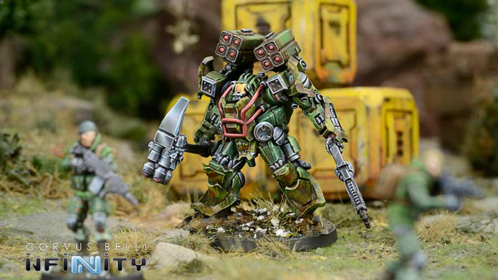 Operation: Coldfront Battle Pack with Wardrivers, Mercenary Hackers (Op. Coldfront Pre-Order Exclusive Model)