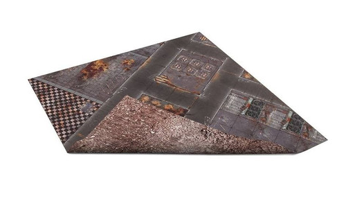 GameMat War Game Mat - Double Sided: Quarantine & Wasteland